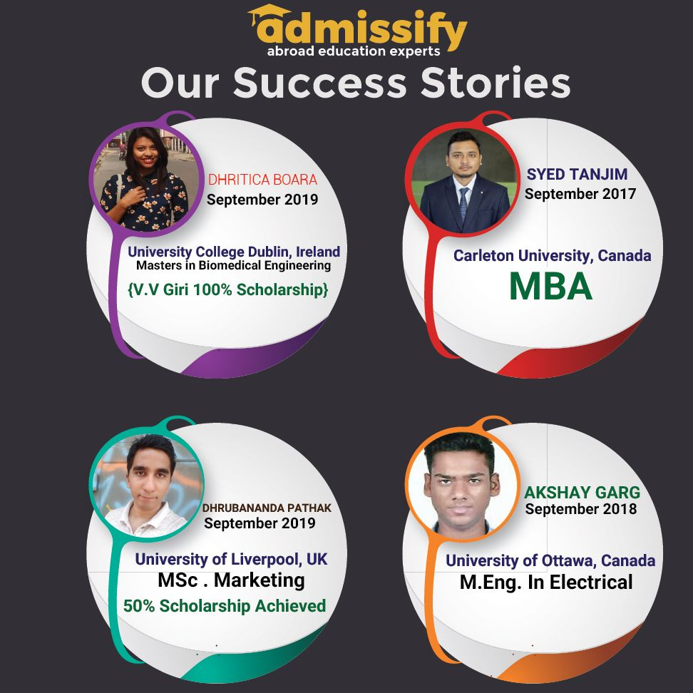 Success Stories with Admissify University of ottawa