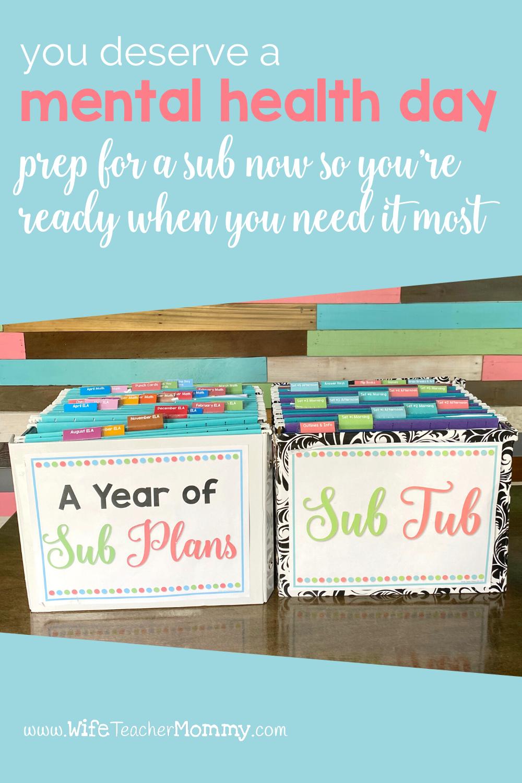Elementary Emergency Sub Plans & Sub Binders | Teacher ...