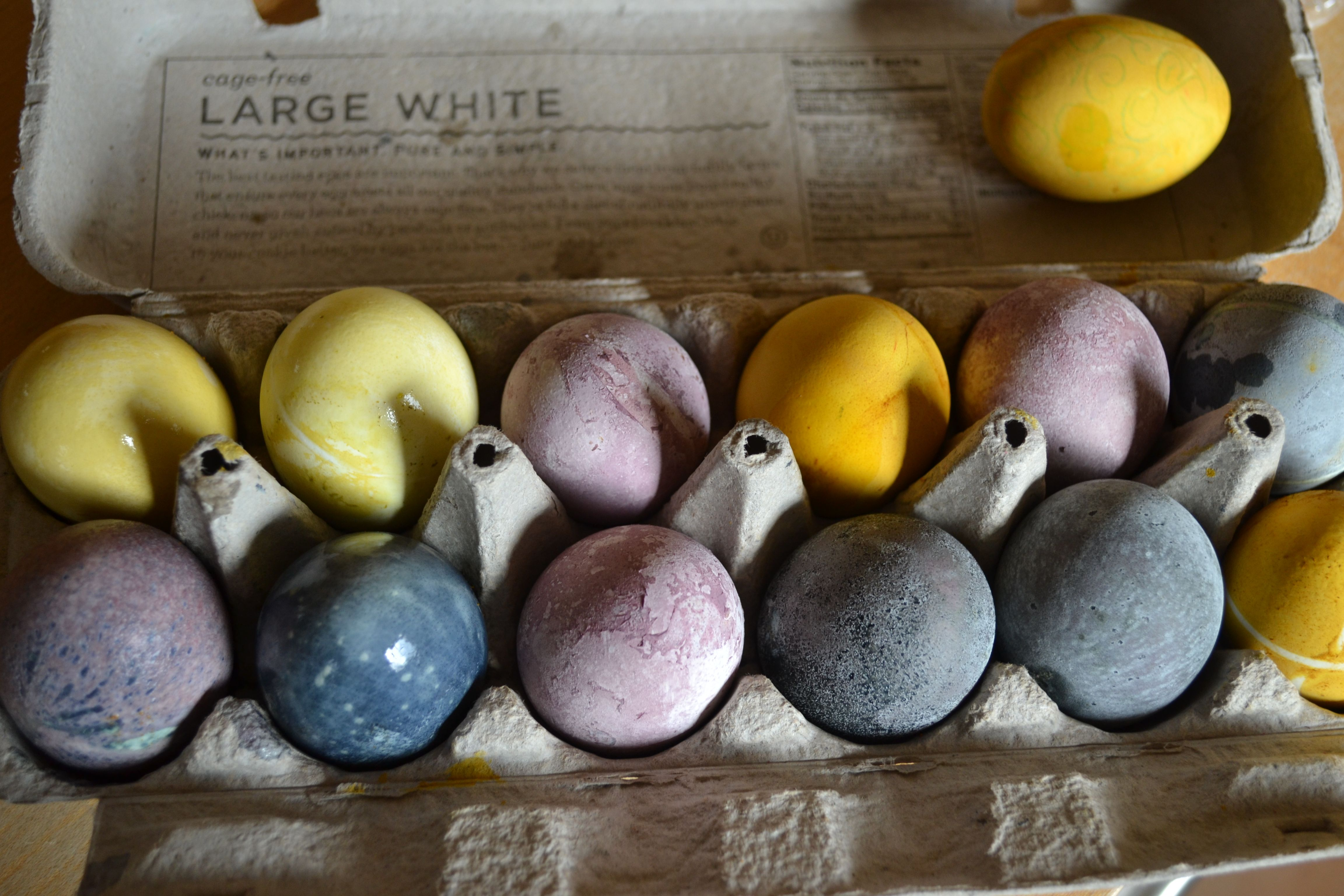 All Natural Plant Dyes for Easter Eggs