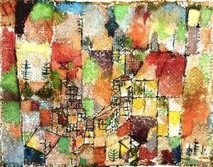 deux pays maisons - (Paul Klee)