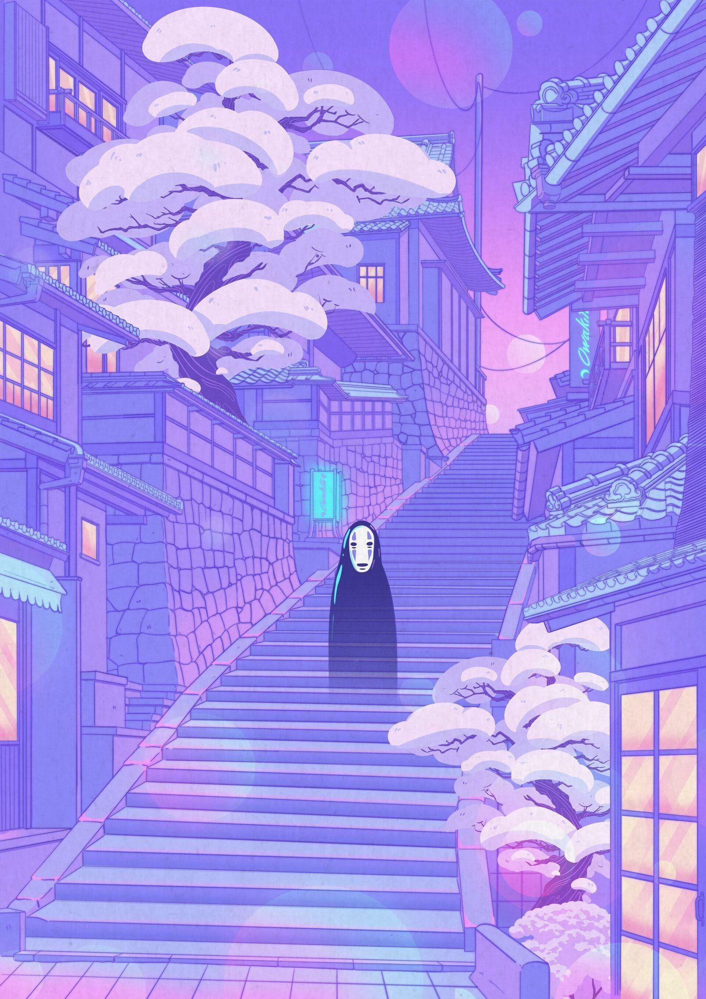 Twitter in 2020 Anime scenery wallpaper, Anime scenery