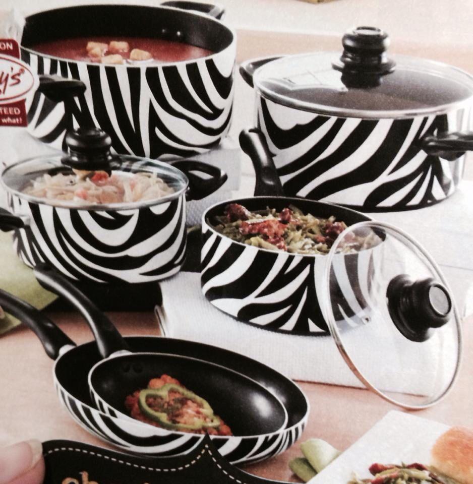 exceptional Zebra Kitchen Set Part - 8: Zebra pots and pans Zebra Room Decor, Zebra Print Rug, Kitchen Utensils,  Kitchen