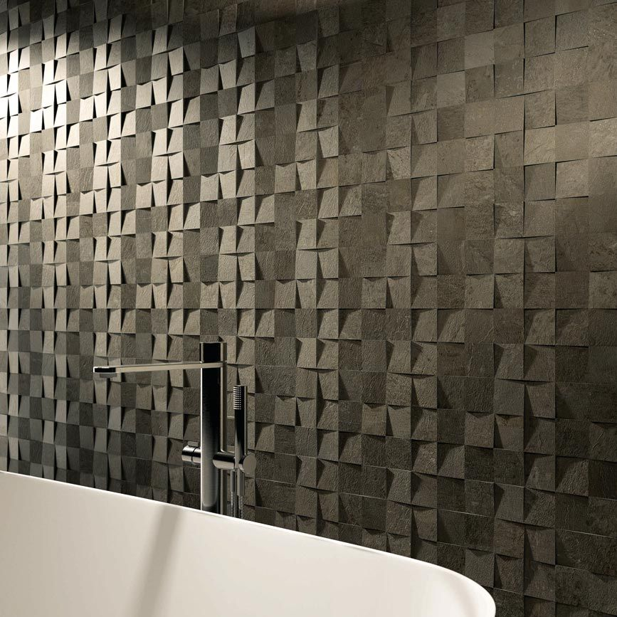 Vals Chunky Stone Looking Porcelain Tiles By Majorca Handmade Can Be Colour Coordinated
