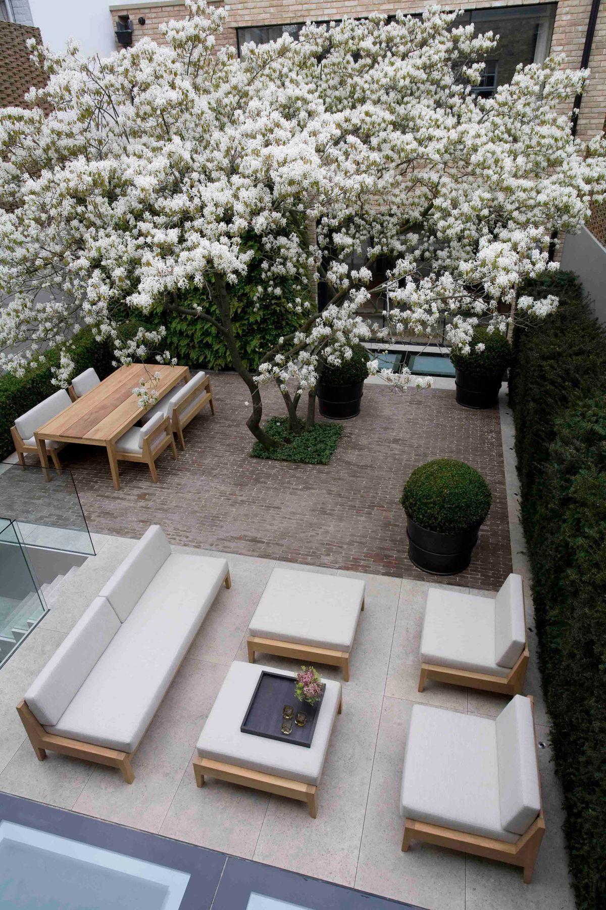 Pin de Car Webb en Sloping garden | Pinterest | Patios, Jardines y ...