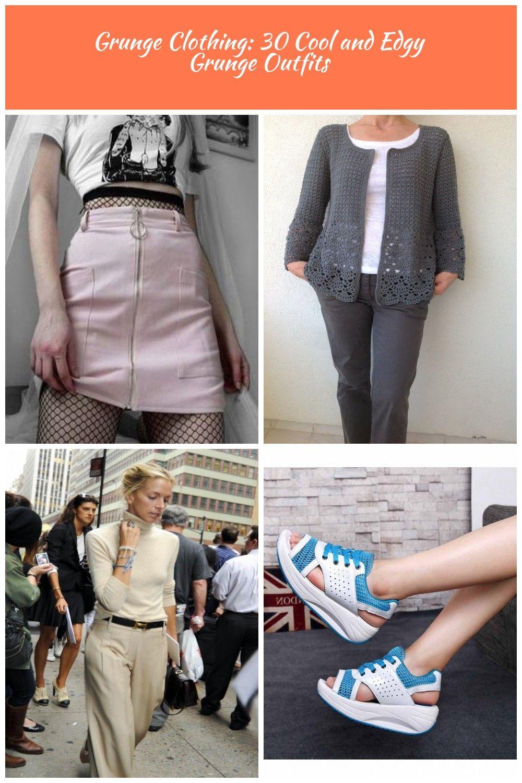 Grunge Outfits #clothing #fashion #grunge womens bottoms Grunge Clothing: 30 Cool and Edgy Grunge Outfits
