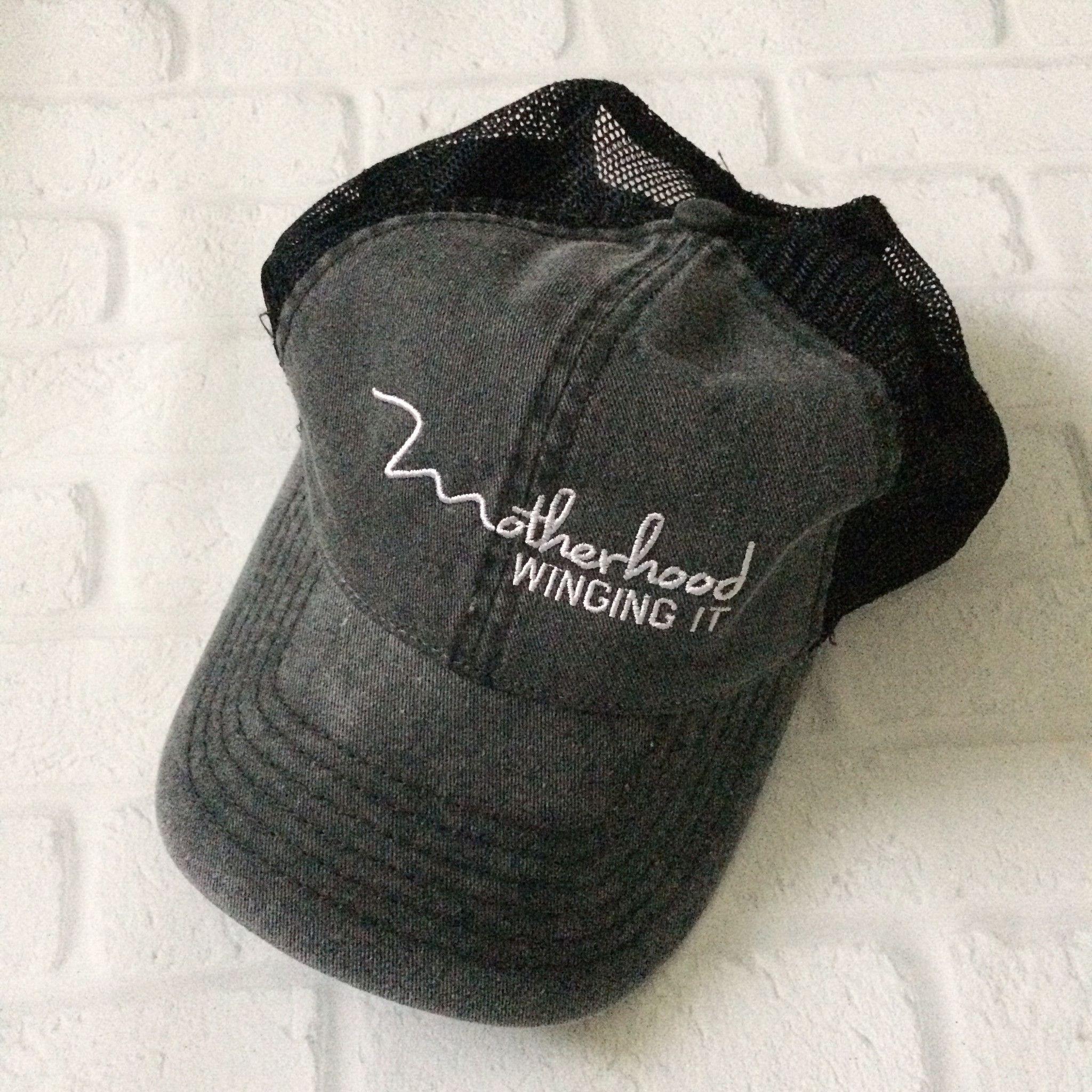 """Motherhood Winging It®"" Vintage Cap"