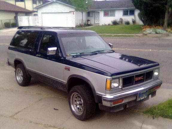 1987 Gmc Jimmy Gmc Chevy S10 Xtreme Chevy S10