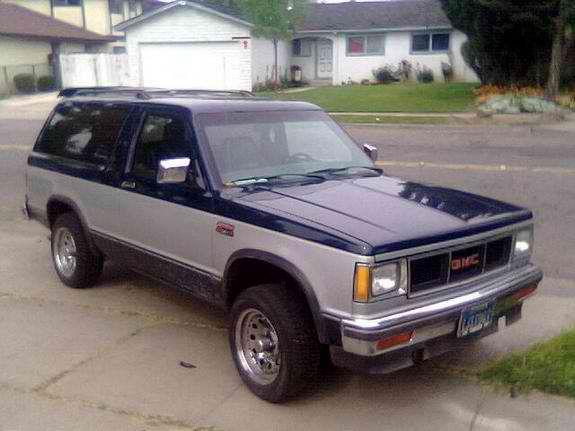 1987 Gmc Jimmy Gmc Chevy S10 Xtreme Chevy S10