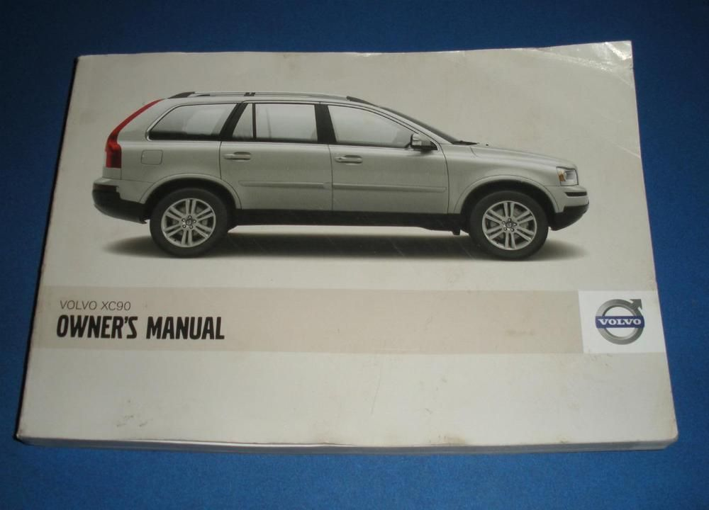 2008 volvo xc90 owners manual book guide owners manuals rh pinterest ca 2016 volvo xc90 owner's manual owner's manual volvo xc90