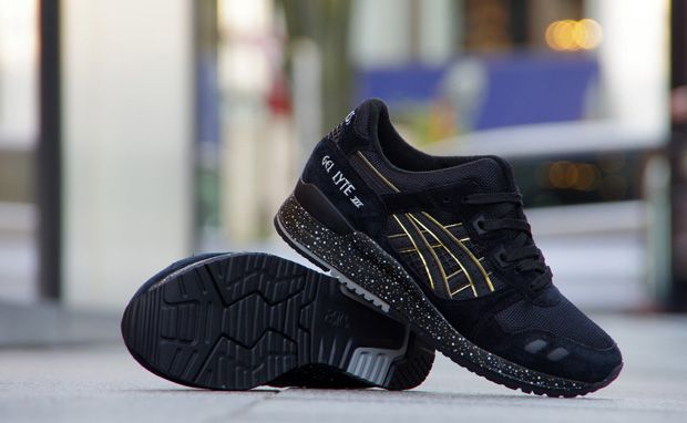 atmos x ASICS Gel-Lyte III Black/Gold | Asics women gel ...