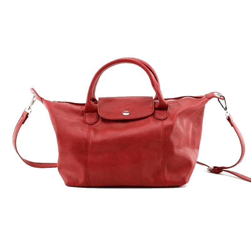 0583269fc28d Red Shoulder Bags Handbags Women Famous Brands Luxury Leather Ladies Hand Bags  Tote Bag Large Hobos