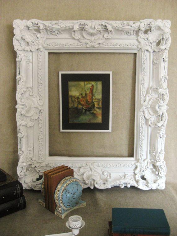 Large Ornate Frame Frames/ Mirrors by shepshaberdashery on Etsy ...