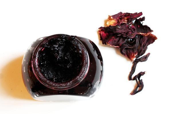 Sugar Free Hibiscus Rosella Jam Recipe Hibiscus Recipe Flower Food Jam