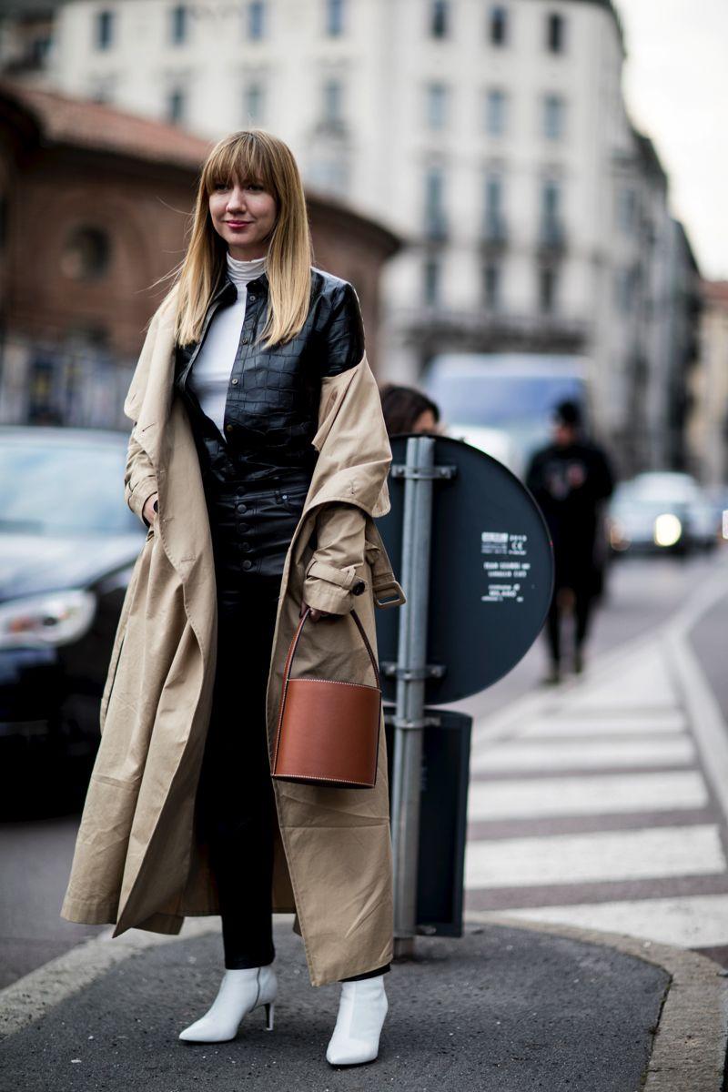 5892e4bea64df3 Bottines blanches : découvrez 50 photos street-style pour savoir comment  porter les bottines blanches