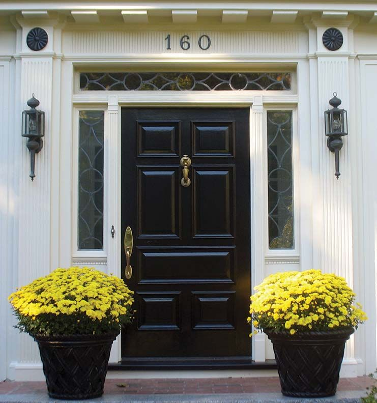 3 Ways To Refinish An Entry Door Doors Federal Style House And