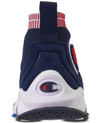 c91b7d89798945 Champion Boys  Rally Pro Casual Athletic Sneakers from Finish Line - Blue  4.5