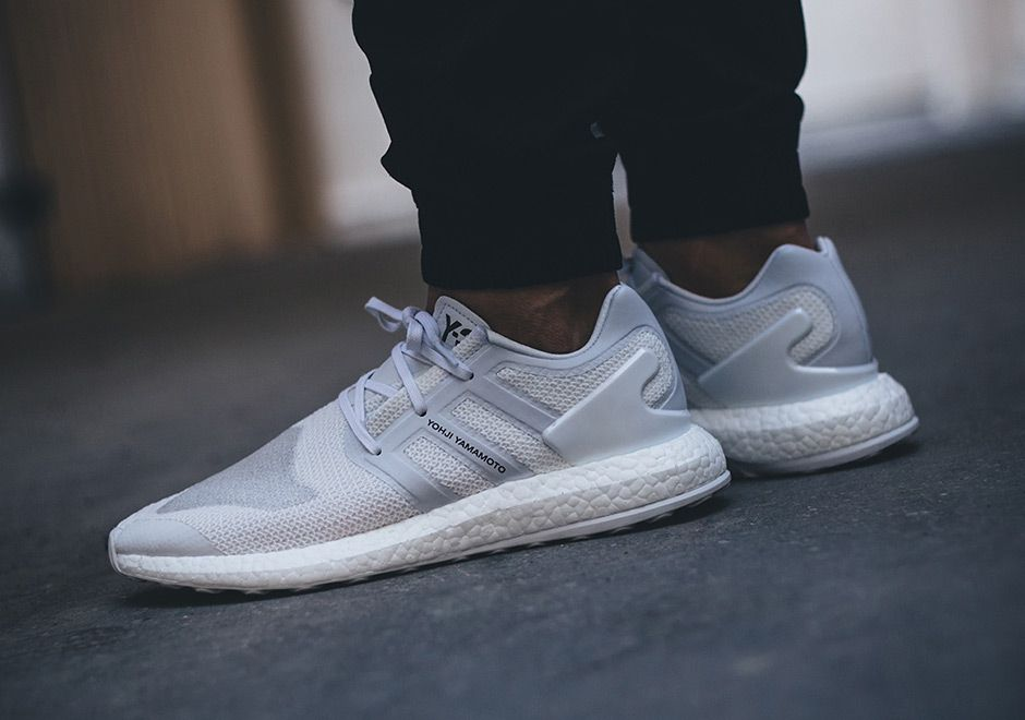 ADIDAS Ultra Boost in a clean 'Triple White' colorway
