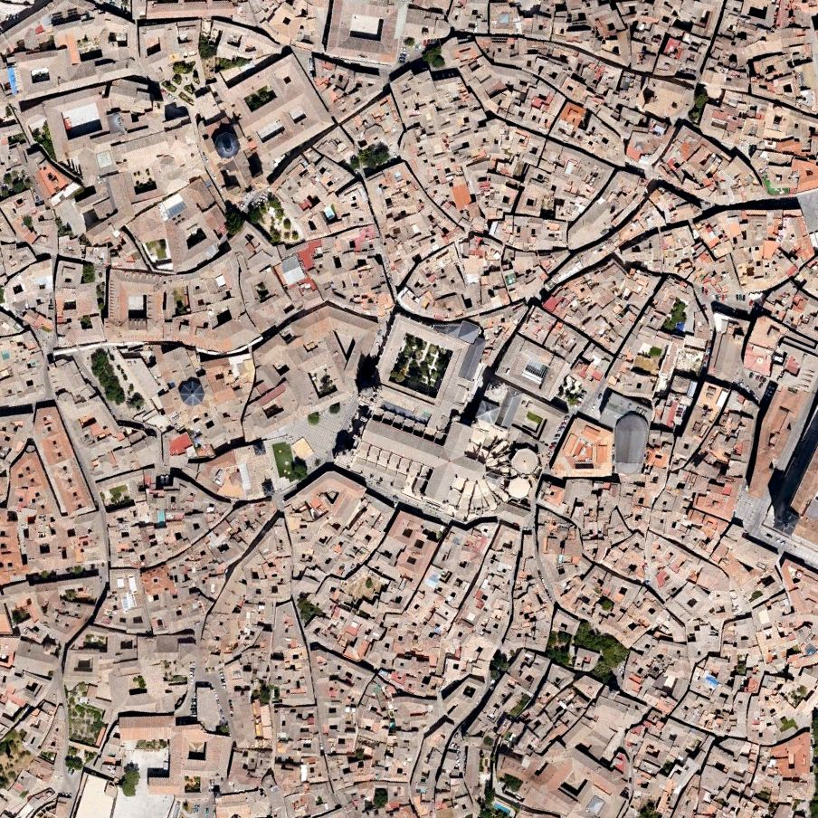 Google Earth Map Of Spain.Toledo Is All About Stone And Steel And Getting Lost In Space And