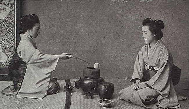 Cérémonie du thé - Japon - XIXe