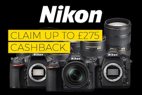 New Nikon cashback program in Europe | Nikon DSLR
