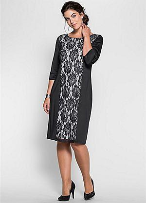 Lace Insert Jersey Dress Size 24 Dress Dresses Plus Size Dresses