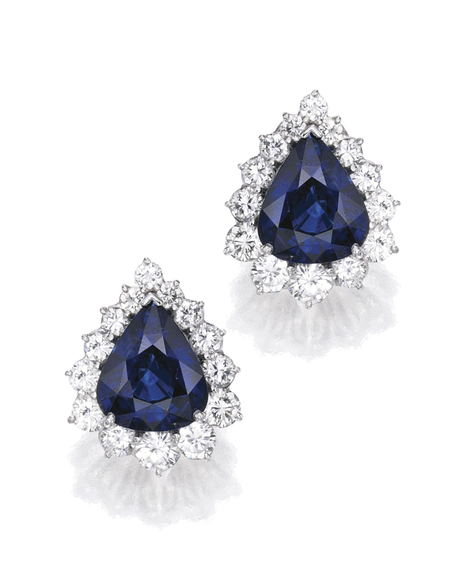 pear front stud sapphire df root com shaped earrings ydiamonds catalog