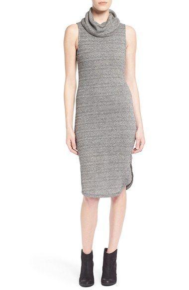 5cbf92ddadc6f Lush Sleeveless Turtleneck Sweater Dress
