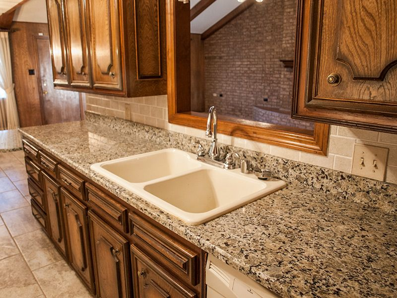 Venetian Marble Kitchen Bath