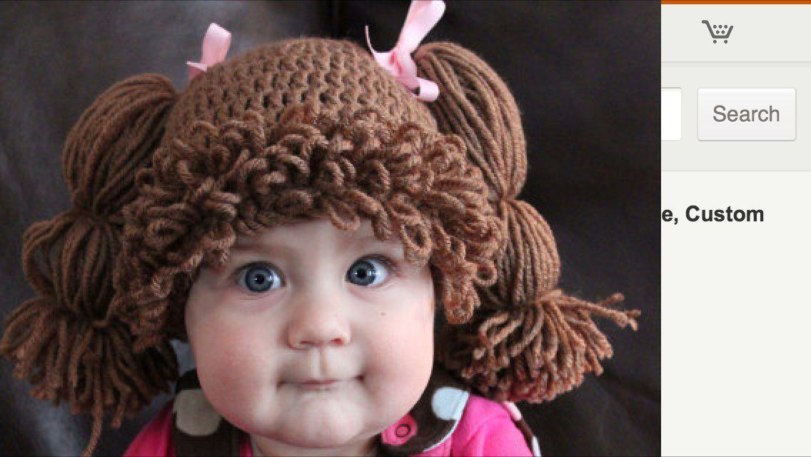 Cabbage Patch Crochet Hat Kinleigh Brooke Crochet Crochet