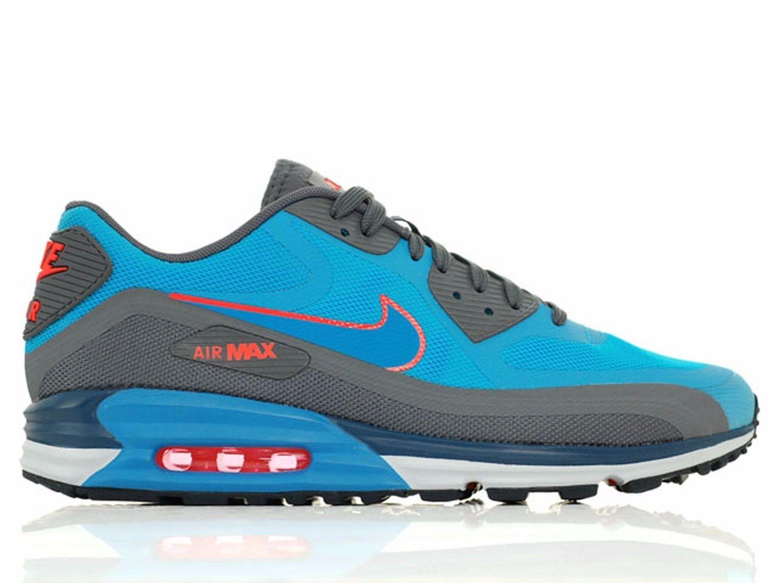 Nike Air Max Lunar90 Mens size 9.5 705302-400 Blue Lagoon/LT BL lcqr