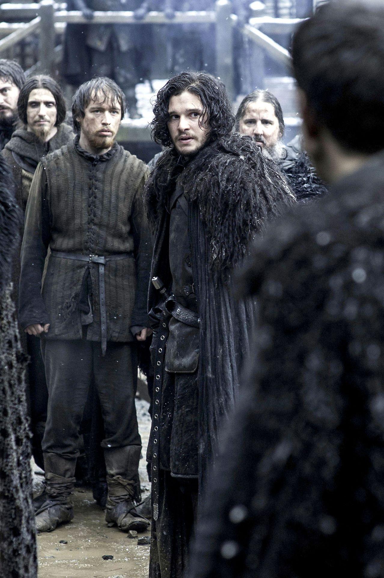 Kit Harington • Jon Snow Game of Thrones, Season 4 (With