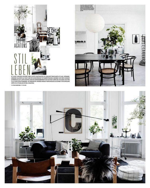 Lotta Agaton's Stockholm apartment