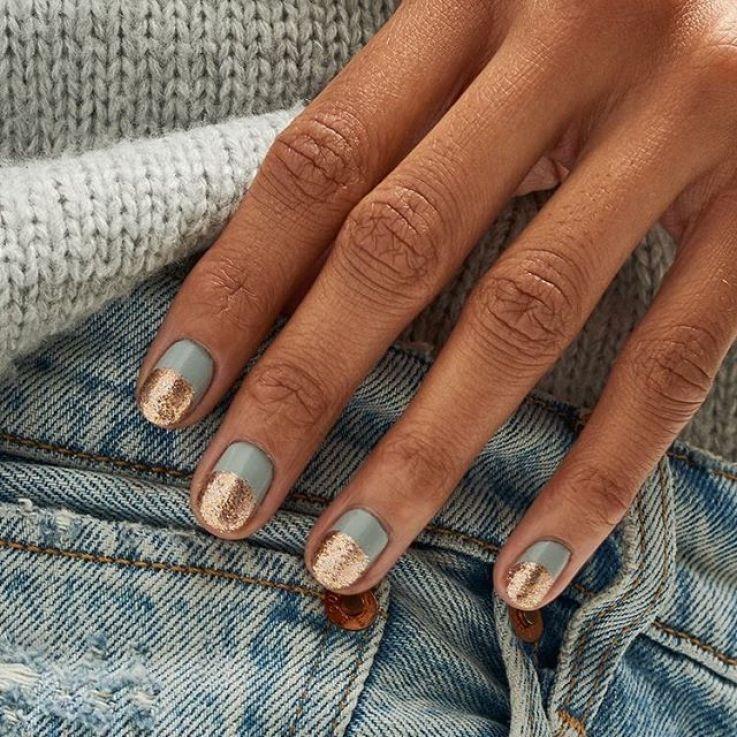 44 Best Nail Designs 2019 Nail Art Design Ideas Short Nail Art Designs Simple Newyork In 2020 Minimalist Nails Short Gel Nails Nails