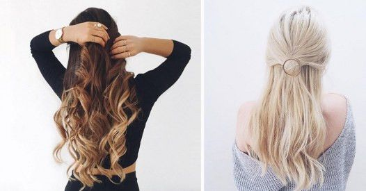 Teste Dich Haarfarbe