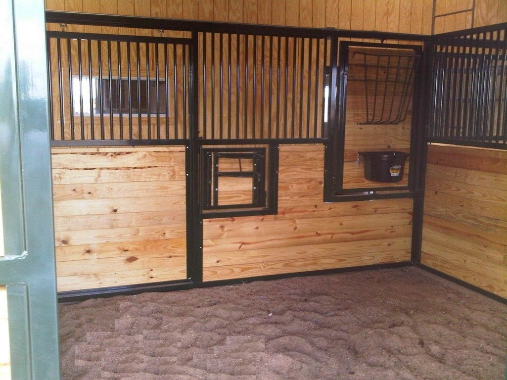 simple horse stall designs - Google Search | Horse Barns ...