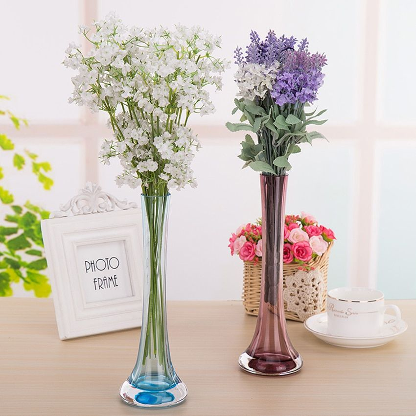 Creative Modern Colorful Gl Vases For Home Decor In