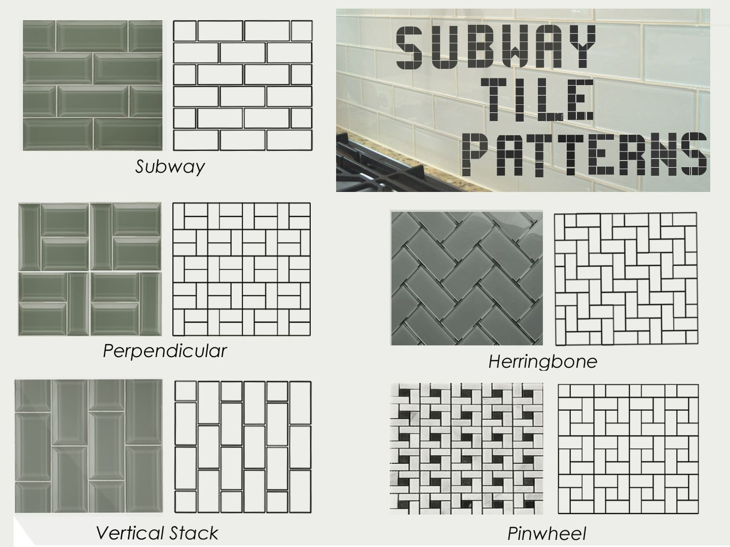 Today's subway tiles can be used for classic or modern designs, or anything  in between