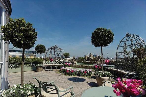 London rooftop garden | Rooftop weddings | Pinterest
