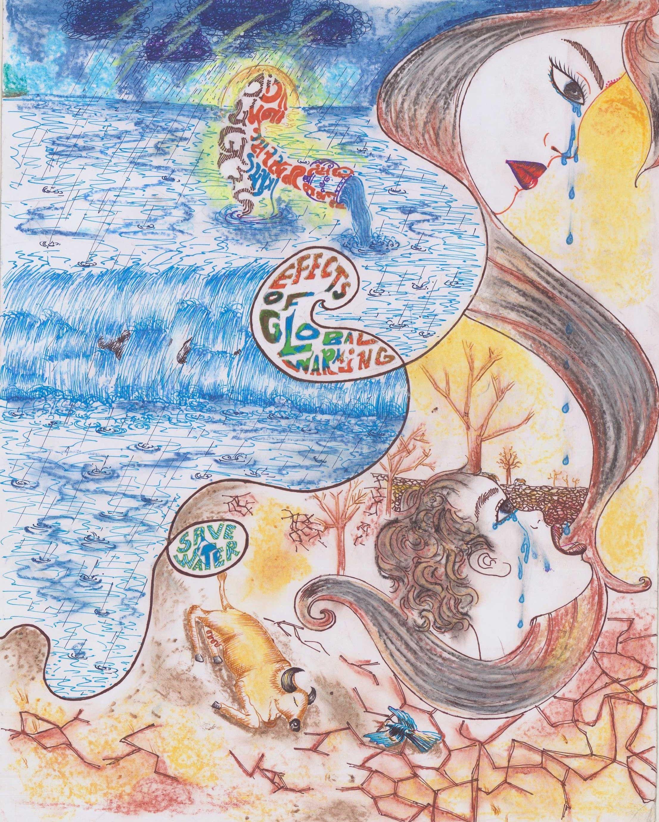 Poster on Water Conservation by Kathiriya Shivani ...