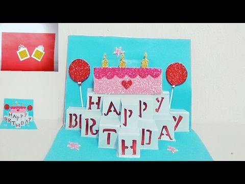 Diy Pop Up BirthDay Card