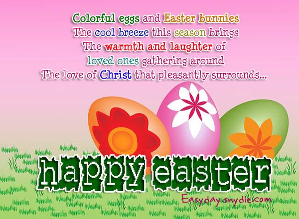 easter sunday card messages – Easter Card Sayings