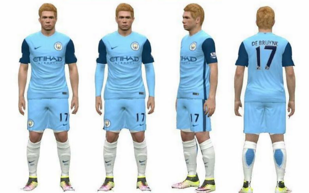 626fbe67765 Is this Man City's new kit for Guardiola's first season in charge ...