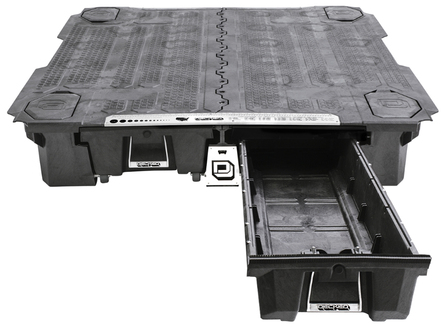 Pure Raptor Decked truck bed, Truck storage, Truck bed