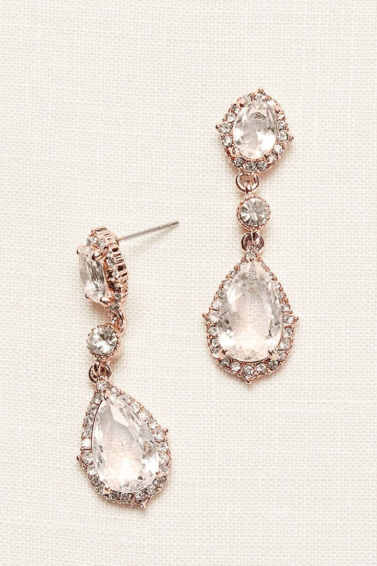 35 Statement Earrings For Your Wedding Day Perhiasan