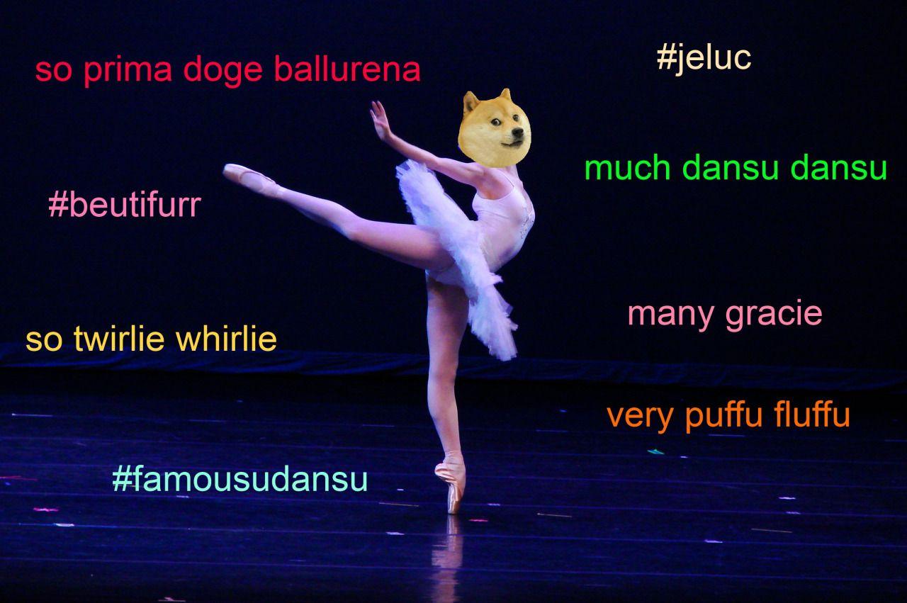 so dansu dansu. much primadoge ballurena. very yesu