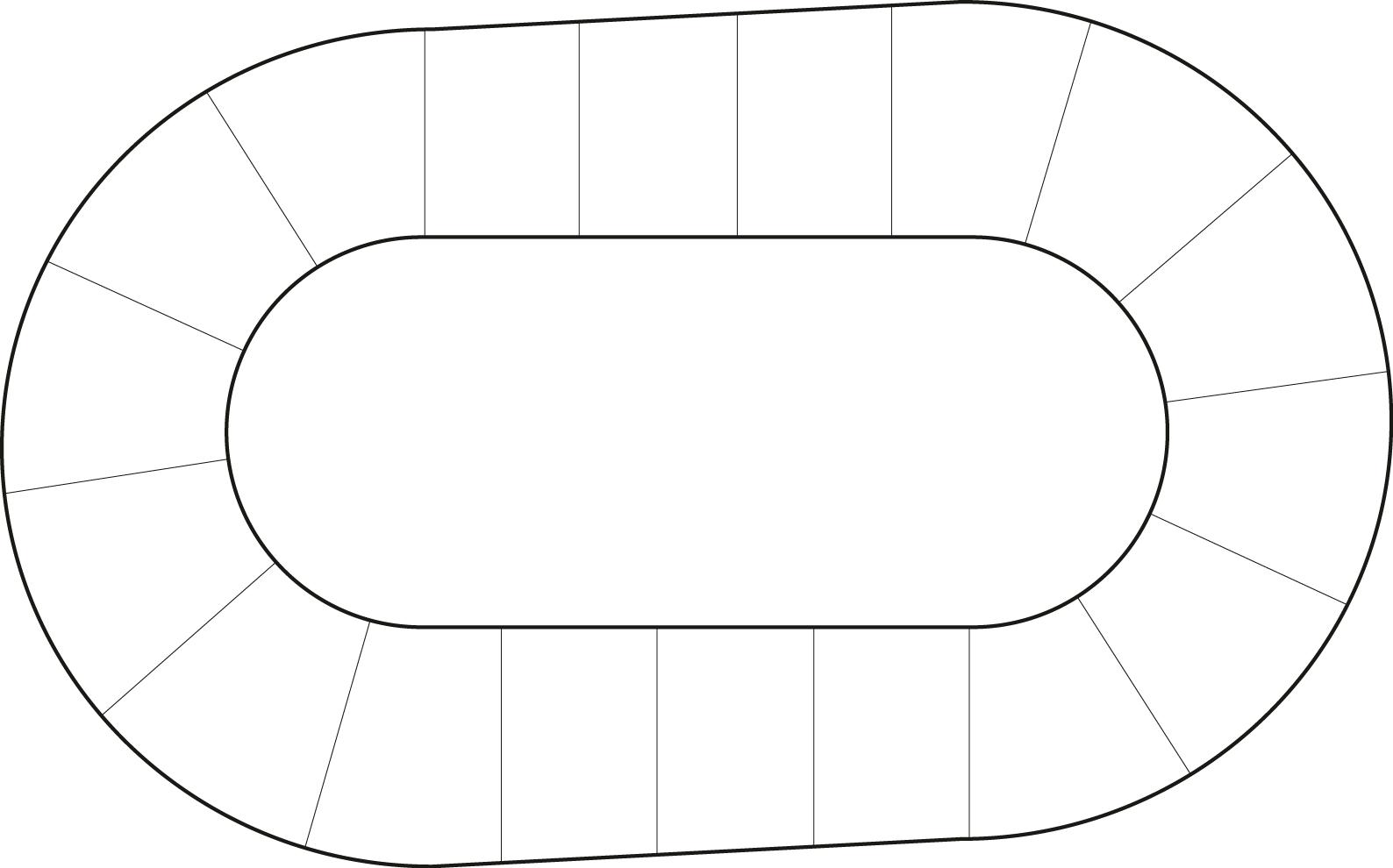 Blank Track Diagram Roller Derby Girls Roller Girl Derby Girl