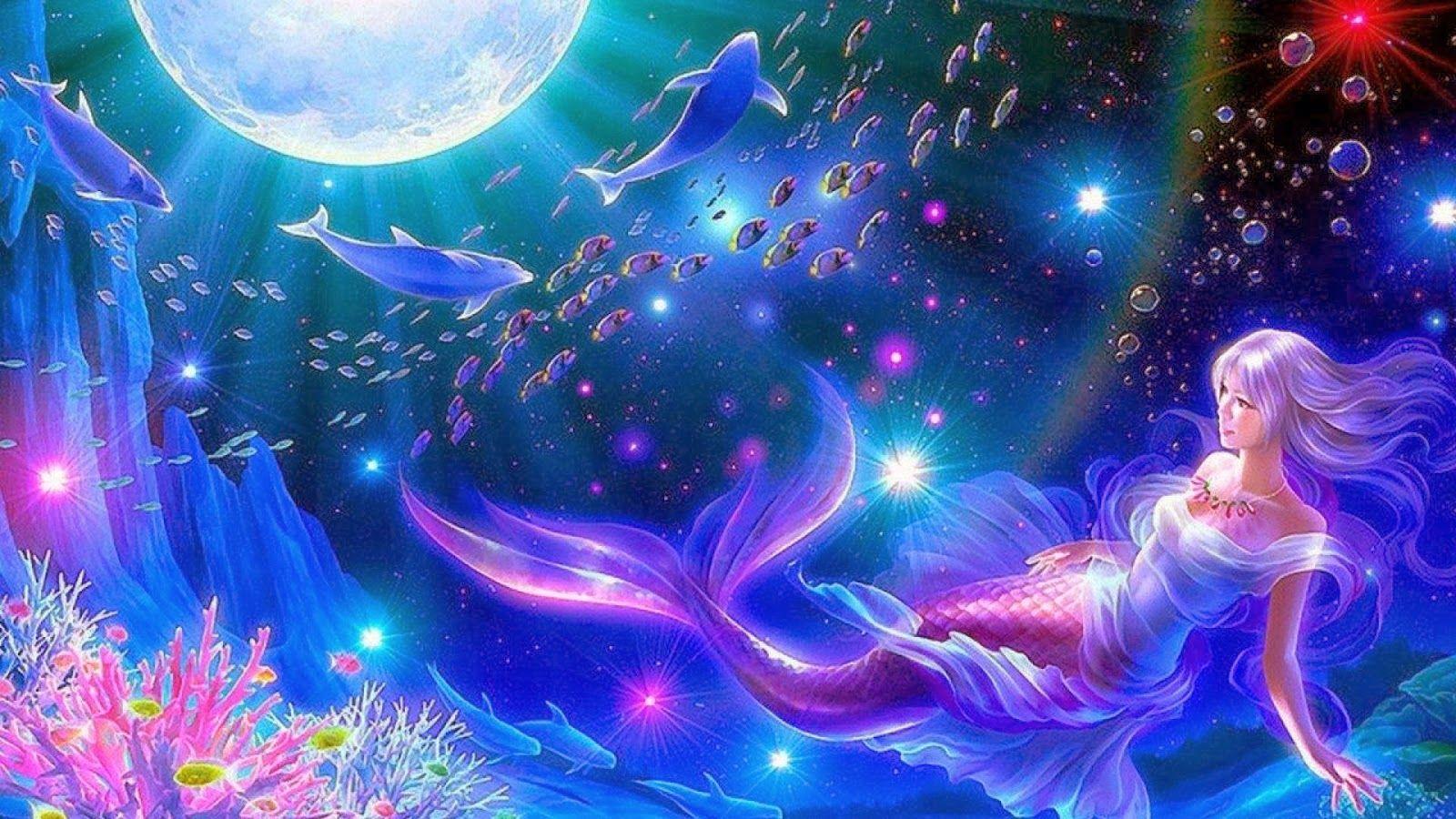 HD Mermaid Wallpaper 1600×1200 Mermaid Wallpaper