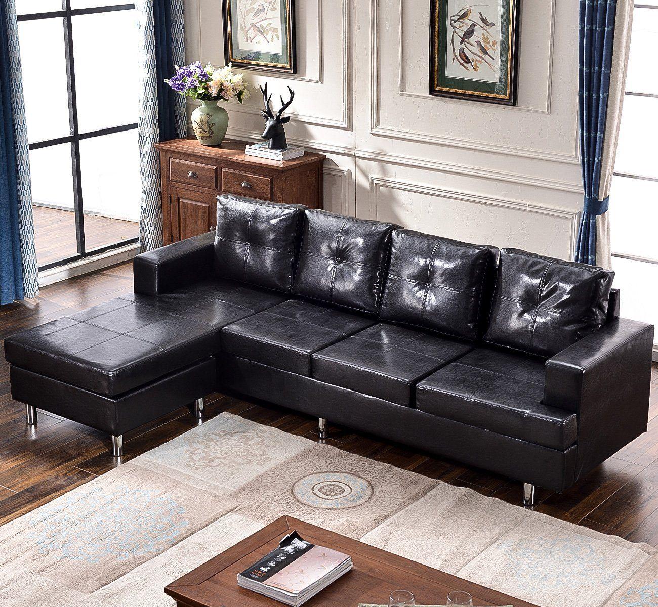 Harper & Bright Designs Modern Style Living Room L Shape