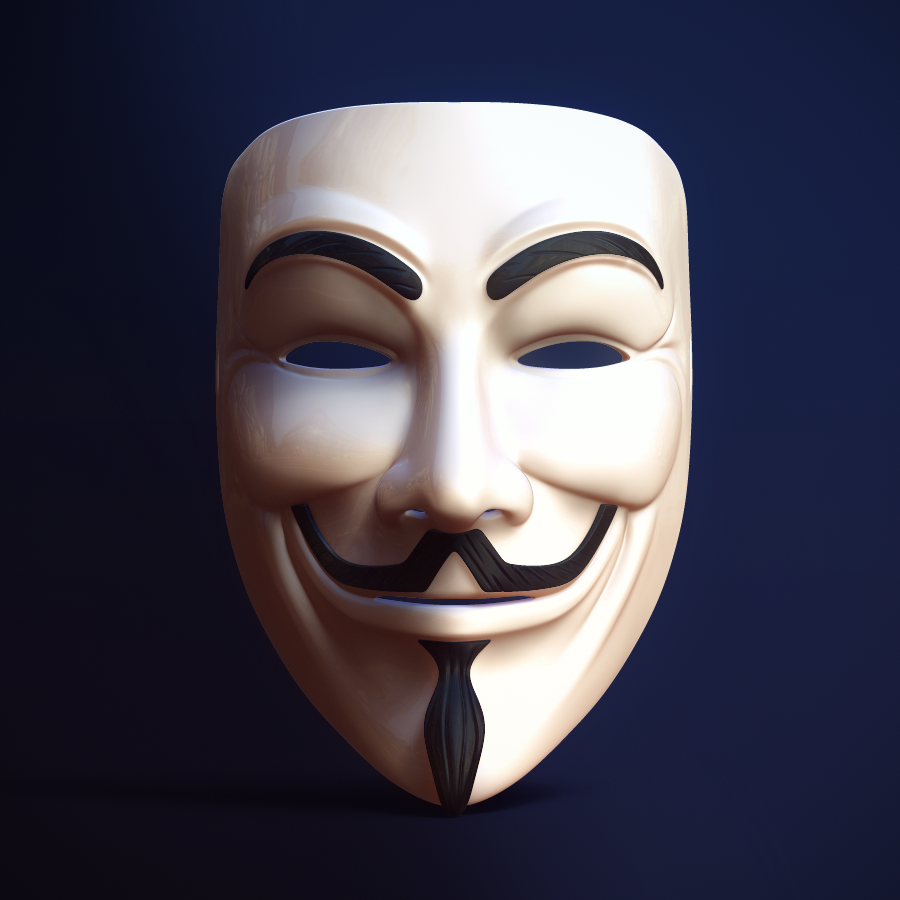 Download Anonymous Mask Full Size By Fabiobautista