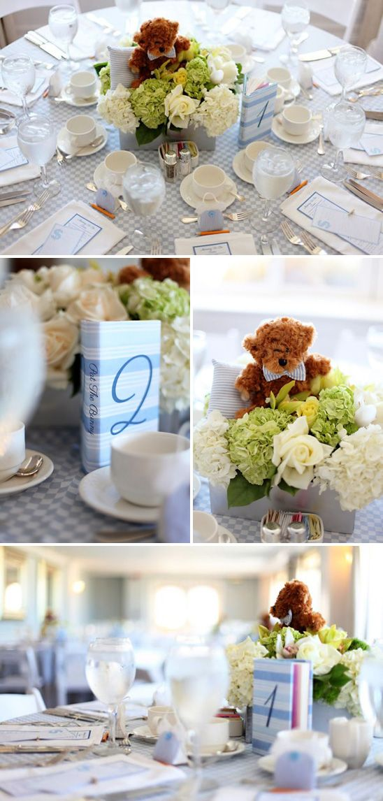 Blue / Library Themed Baby Shower